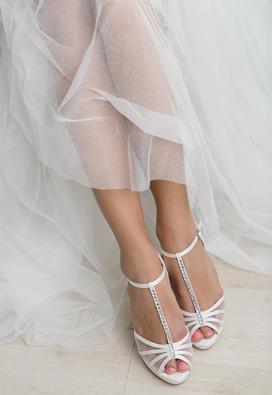 Brautschuhe bei Brautmoden Tirol Mieming