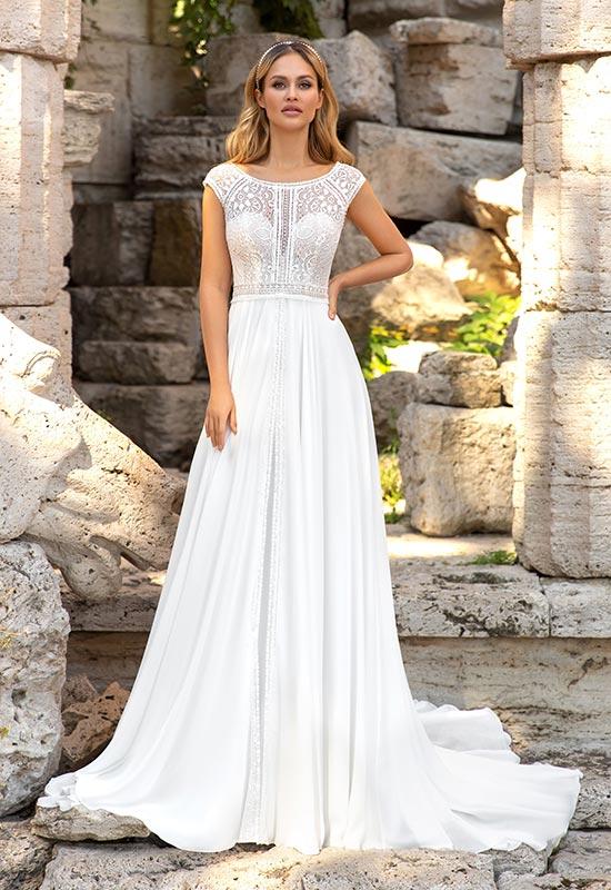 Brautkleider von Angela Bianca bei Brautmoden Tirol