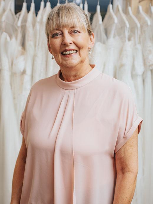 Angie - Mitarbeiterin Brautmoden Tirol