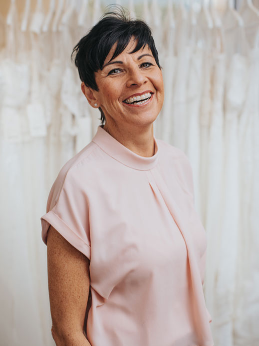 Dagmar Melmer - Inhaberin Brautmoden Tirol